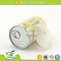 cigarette tubes cardboard packaging box with metal lid