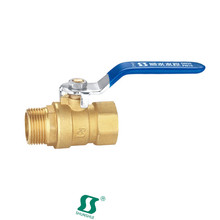 brass ball valve importer in china female male with limit switch