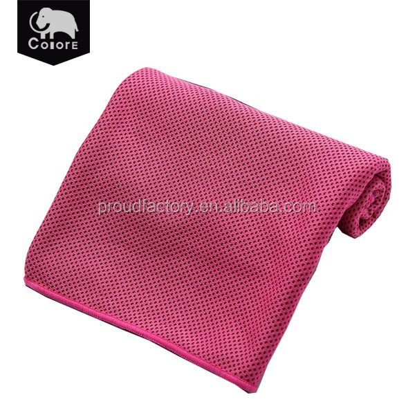 China supplier water absorbent sport cooling towel,instant cooling sport towel for sale