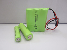 3.6V 500mAh AAA NiMH Cordless Phone Rechargeable Battery Replacement Pack