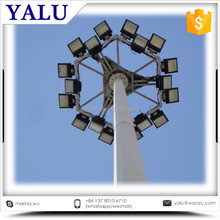 18M 20M 25M 30M 35m 40M 45M 50M Soccer Field Polygonal Galvanized Q235 Steel High mast light
