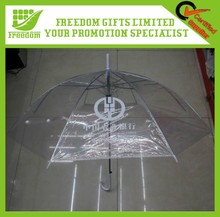 Promotion Logo Customized Transparent Princess Umbrella