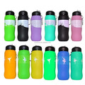 High quality direct factory silicone traveling water bottle