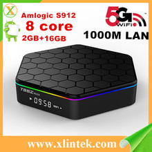 Android tv box Android 6.0 T95Z plus 4K*2K Amlogic S912 Quad Kodi 17.0 Loaded add-ons WiFi 4K*2K 1080P WiFi Smart TV BOX