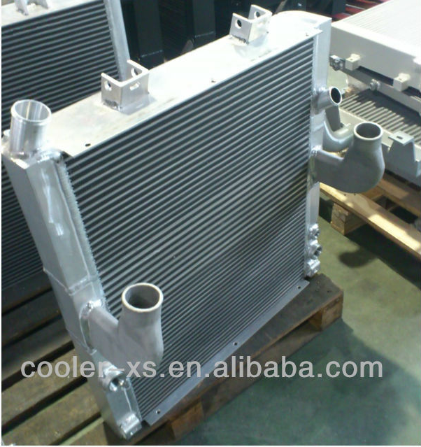 agricultural machinery aluminum heat exchanger