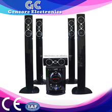 loud speaker Home theater new model, used home theater music system rohs speaker, 5.1 speakers home theater system