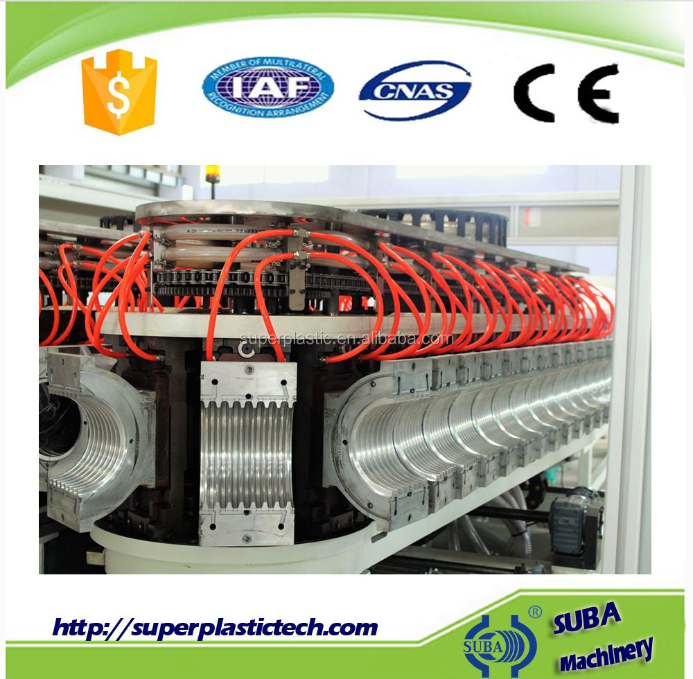 Plastic Double piping Extrusion machinery production Line