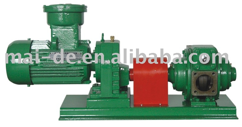 rotary vane pump positive displacement for gasoline, diesel in service station, stock terminal and tank truck