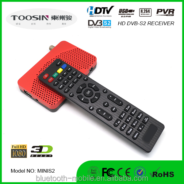 HOT sale HD MINI DVB S2 satellite receiver with IKS BISS IPTV POWERVU CCCAM factory price