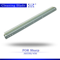 china manufacture drum cleaning blade compatible ar350 450 copier parts
