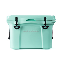 Everich plastic insulated beach ice chest cooler box for camping fishing
