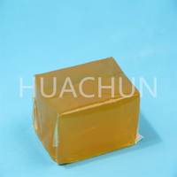 Press sensitive hot melt adhesive for label stick