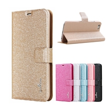 LZB smartphone silk grain flip leather universal mobile phone case cover for Huawei G520 case