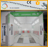 Car oven spray booth for water soluble paint