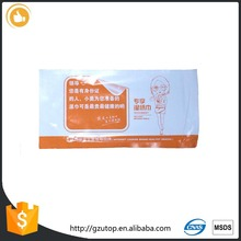 Compressed cotton clean wipes rapped wet refreshing wet towel