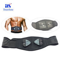 Best seller! 6 operation modes Battery operated CE RoHS vibration belly massage belt