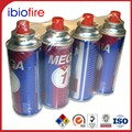 Ultra refined UN 2037 butane lighter refill supplier 400ml