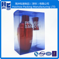 Large blister plastic package box for display