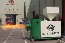 [ROTEX MASTER] High Quality Wood Chip Burner for Rotary Dryer in Thailand