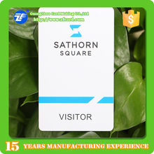 Provide Design!!! High Quality Smart RFID Visit card/ Smart EM4200 card/ Smart card