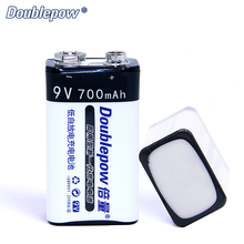China manufacturer shenzhen deep cycle 9v 700mah li-ion rechargeable battery
