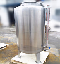 stainless steel alcohol storage tank