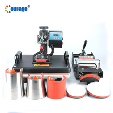 Cost-effective cheap price 8 in 1 combo heat press machine