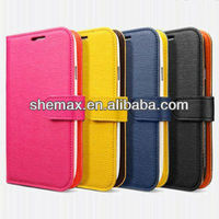 Hot Selling Cellphone Parts / Protector / Cases, Premium PU Leather Folio Case With Card Slots Cover For Various Cell Phone