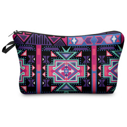 Custom Printed High Quality Plain Makeup Bag, Cosmetic pouch