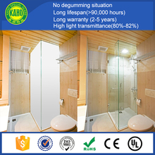 Lifespan more than 98,000 hours switchable one way mirror pdlc film for office partition wall