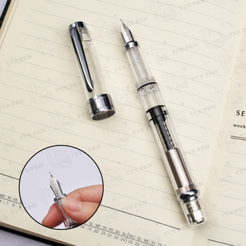 Free Shipping School Supplies Plastic Promotional Fountain Pen