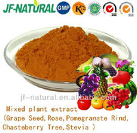 Mixed plant extract functional powder