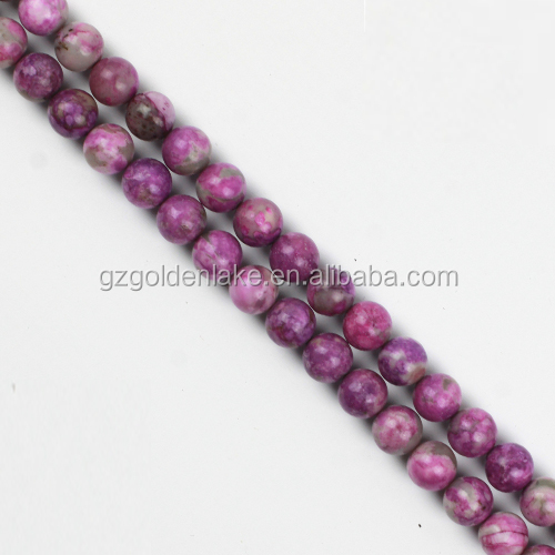 Natural Charoite Perfect Stone Gemstone Charoite Plain Rounds Beads