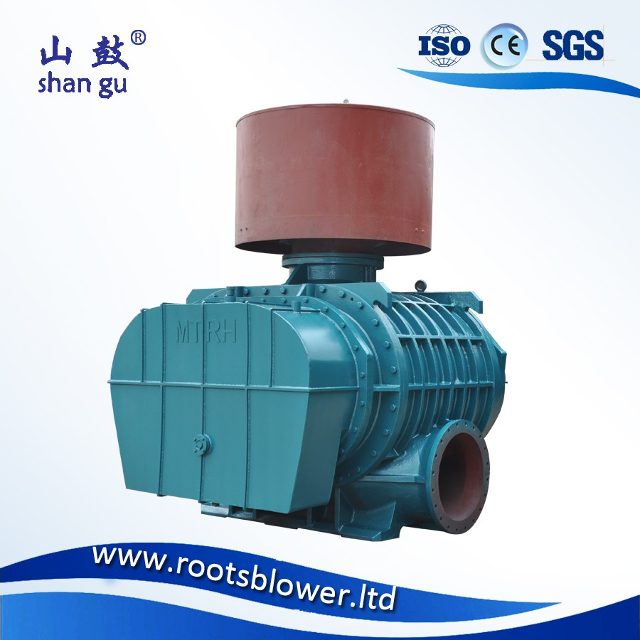 Flour mill conveying air blower