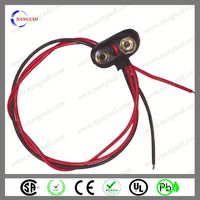 9v battery snap clip dc plug