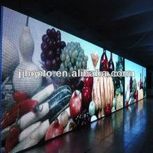 2012 Fashion Stage viewing angle 1R1G1B ph16 outdoor full color led screen wall used outdoor lighted signs