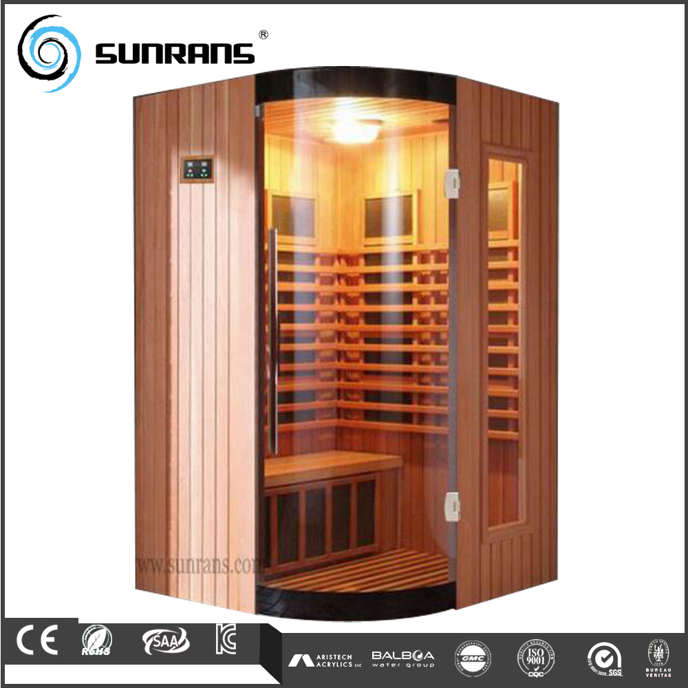 European design more comfortable sauna room waterproof lcd tv