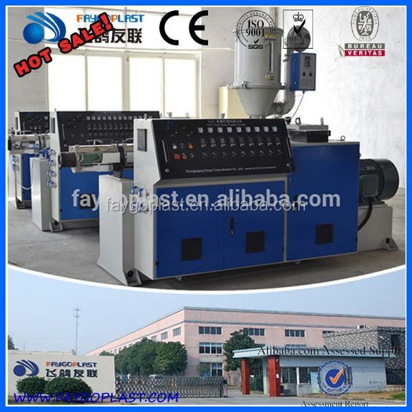 Plastic Single Screw Extruder hot melt extruder machine