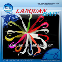 Wholesale Lanquan vivid swimming actions newest high quality artificial lure-LEECHES
