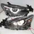 For MAZDA 6 ATENZA LED Head Lamps 2014-2015 year LD