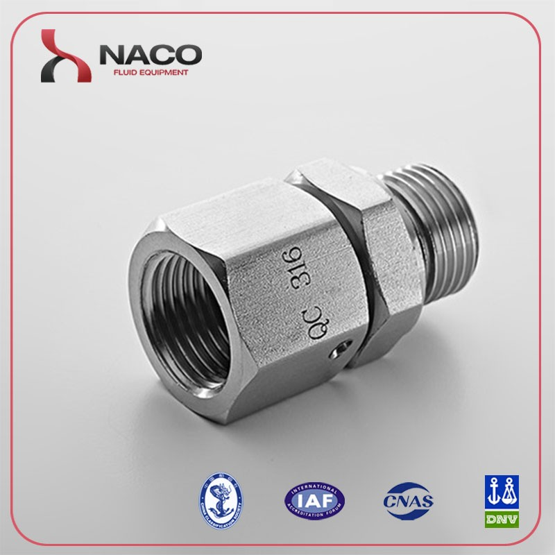 Male thread transition stainless steel quick couplings joints