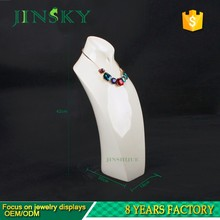 Wholesale custom jewelry display bust mannequin necklace holder