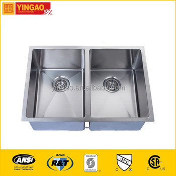 RR2920A Wholesale stainless steel square undermount sink