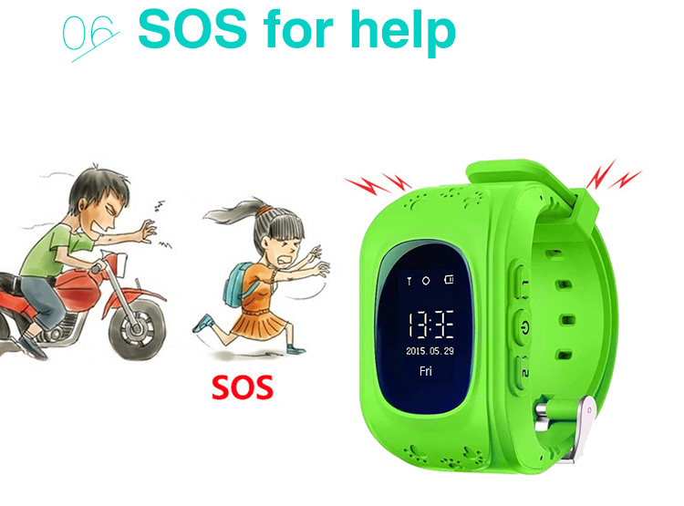 High Quality Plastic Bracelet Electronic Led Kids smart Watch