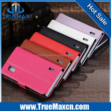 Hot selling Case For LG Google Nexus 4 Case E960 Leather Flip Wallet