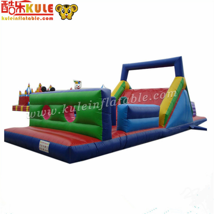 Manufacturer promotion custom cheap inflatable obstacle course for sale