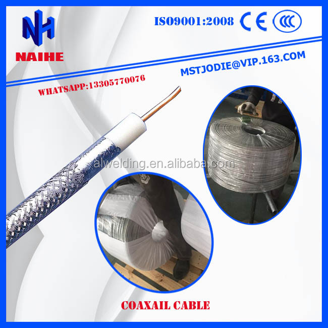 RG6 Semi-finished Coaxial Cable Made in China for India Market