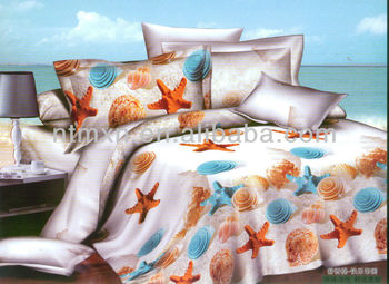 3d printed bedding set,hot sale this year,king/queen/twin size