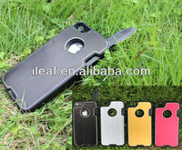 For iphone 5G knife protector case, mobilephone case, case with stainless steel knife