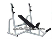 2016 Fitness olympic Incline Chest Press Bench For Sale